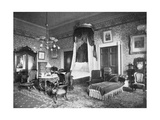 President Harrison's Bedroom at the White House  Washington DC  USA  1908