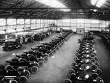 Interior of the Ford Works  Trafford Park  Manchester  C1911-C1927