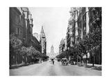 Avenida De Mayo (May Avenu)  Buenos Aires  Argentina