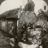The Royal Army Medical Corps at Monchy Dressing Station  France  World War I  1914-1918