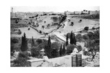 The Garden of Gethsemane and the Holy City of Jerusalem  1926