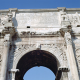 Arch of Constantine  Rome  4th Century
