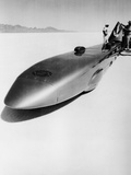 Goldenrod' Land Speed Record Car  Bonneville Salt Flats  Utah  USA  C1965