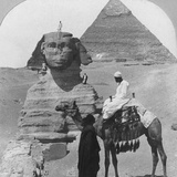 The Great Sphinx of Giza  Egypt  1899
