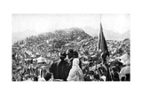 Pilgrims Performing the Wukuf  Mount Arafat  Saudi Arabia  1922