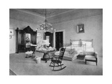 Mrs Mckinley's Bedroom at the White House  Washington Dc  USA  1908