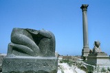 Pompey's Pillar  Alexandria  Egypt
