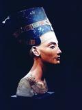 Nefertiti, Egyptian Queen and Consort of Akhenaten, 14th Century Bc Papier Photo
