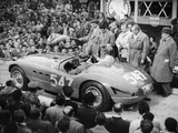 G Marzotto in a 41 Ferrari  Taking Part in the Mille Miglia  1953