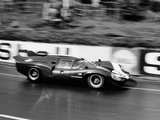 An Aston Martin Lola at Le Mans  France  1967