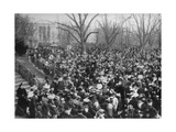 Easter Egg Rolling  the White House  Washington DC  USA  1908