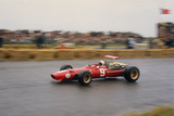 Chris Amon in a Ferrari V12  Dutch Grand Prix  Zandvoort  1968