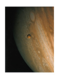 Jupiter and Io  One of its Moons  1979