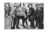 Street Hawker Selling Football Favours in King's Cross  London  1911 (1926-192)