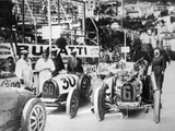 Scene During Practice for the Monaco Grand Prix  1929
