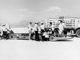 Goldenrod' Land Speed Record Car  Bonneville Salt Flats  Utah  USA  1965
