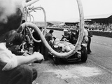 Delahaye 175S in the Pits  Le Mans  France  1951