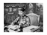 Emperor Khai Dinh (1885-192)  12th Emperor of the Nguyen Dynasty  Annam  Vietnam  1922