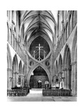 The Nave  Wells Cathedral  Somerset  England  1924-1926