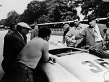 Alfred Neubauer with a Mercedes  Avus Motor Racing Circuit  Berlin  Germany  1938