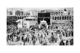Mecca's Great Mosque  Mecca  Saudi Arabia  1922