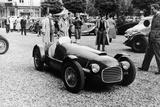 Ferrari 166 at Spa  Belgium  1949