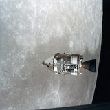 The Apollo 15 Command and Service Modules in Lunar Orbit  1971
