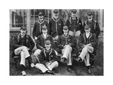 The Winning Oxford Boat Race Crew  1896