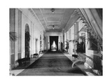 Long Corridor  the White House  Washington  USA  1908