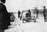 Mercedes of Christian Lautenschlager  French Grand Prix  Dieppe  1908