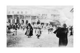 Busy Square in Mosul  Mesopotamia  1918