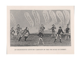 Edward Sackville  4th Duke of Dorset  Playing Cricket  18th Century