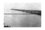 Lower Pontoon Bridge  Baghdad  Mesopotamia  Wwi  1918