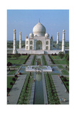 The Taj Mahal  from the Top of the Entrance Gate  Agra  India