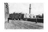 Mosque on River Street  Baghdad  Mesopotamia  Wwi  1918