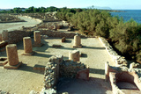 Coastal Roman Ruins  Tunisia  3rd Century Ad