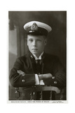 The Prince of Wales in Naval Uniform  C1910