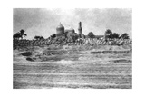 Mosque and Graveyard Near Baghdad  1918