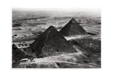 Aerial View of the Pyramids of Giza  Egypt  from a Zeppelin  1931