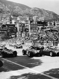 Cars on the Starting Grid  Monaco  1950S