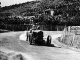 Kenelm Lee Guinness in a 6 Cylinder Sunbeam  French Grand Prix  Lyons  1924