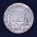 Obverse of a Medal Commemorating the Brilliant Comet of November 1618