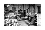 The Red Drawing Room in the Speaker's House  Palace of Westminster  London  C1905