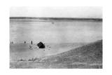 Tigris River  Samarra  Mesopotamia  1918