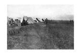 British 1/5 Rwr Camp  Near Baghdad  1918
