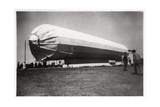 Zeppelin LZ 5 at Goeppingen  Germany  1909