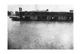 River Boat on the Tigris  Mosul  Mesopotamia  1918