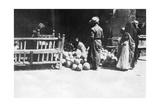 Fruit Stall  Baghdad  Mesopotamia  Wwi  1918