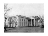 The North Portico of the White House  Washington DC  USA  1908