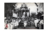 The Silver Chariot of the Chettiars  Saigon  Vietnam  1912